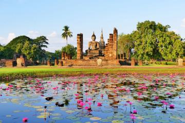 Thailand Reise: Sukhothai
