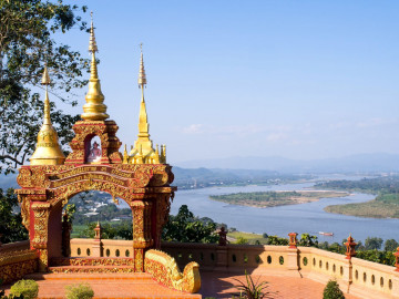 Thailand Reise - Goldenes Dreieck