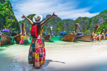 thailand strand tourist
