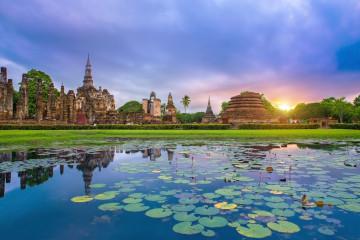 Reise Thailand: Sukhothai