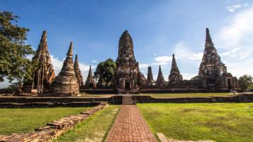 Reise Thailand: Wat Chai Watthanaram - Ayutthaya