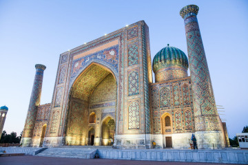 Reise Usbekistan - Registan Platz