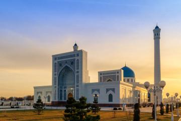 Usbekistan Tashkent Moschee Minor