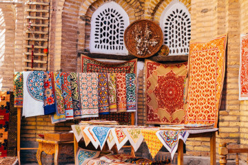 Usbekistan Teppich Markt