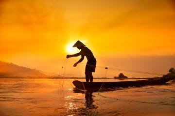 Reise Vietnam: Fischer