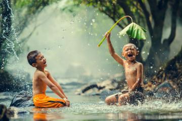 Reise Vietnam: einheimische Kinder