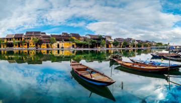 Reise Vietnam: Hoi An - Fluss und Altstadt