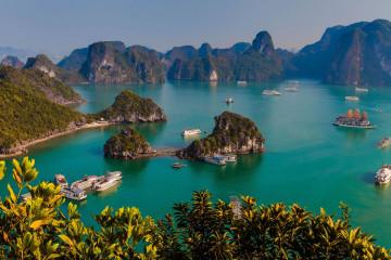 Reise Vietnam: Halong Bucht