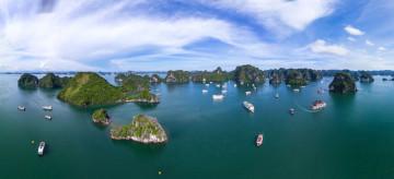 Vietnam Reise: Halong-Bucht
