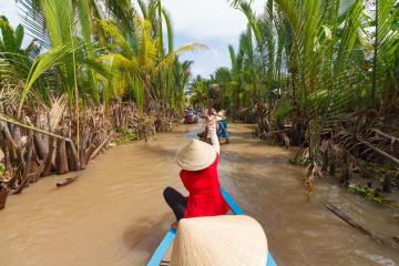 Vietnam Reise: Mekongdelta Bootsfahrt