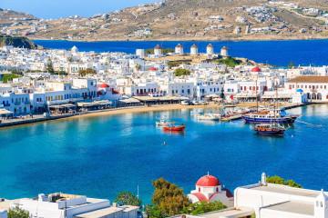 Segelreise Griechenland Mykonos