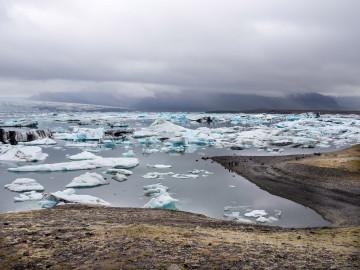 Island Gletschersee Jökulsalon