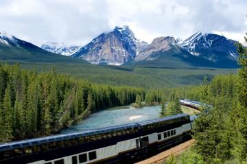 Kanada Rundreise Zug - Zugfahrt
