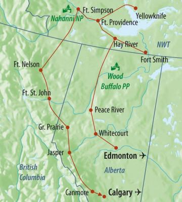 Kanada Rundreise - Northwest Territories Entdeckerreise