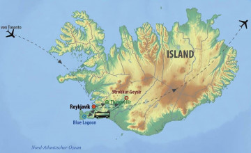 Ostkanada Rundreise - Maritimes Kanada & Stopover Island