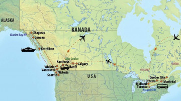 Kanada Reise: Kreuzfahrt