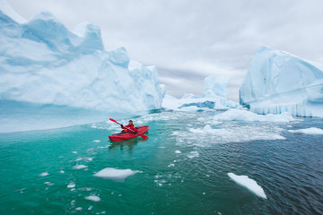 Kanada Arktis: Kajak fahren