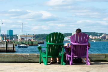 Nova Scotia Ausblick