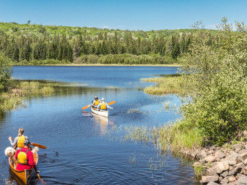 Westkanada: Kanu Reise auf dem Yukon River