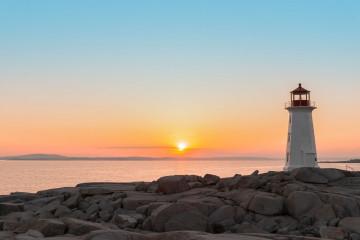 Reise Nova Scotia: Peggys Cove Leuchtturm