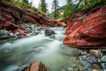 Kanada Reise - Red Rock Canyon