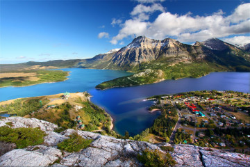 Reise Kanada - Waterton Lake National Park