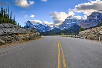 Kanada Reise: Highway zwischen Banff und Jasper Nationalpark