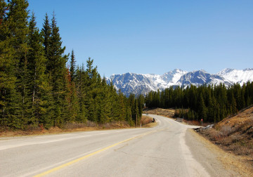 Kanada Reise: Highway zum Jasper Nationalpark
