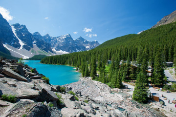Kanada Reise: Moraine Lake im Banff Nationalpark