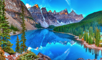 Kanada Reise: Moraine Lake