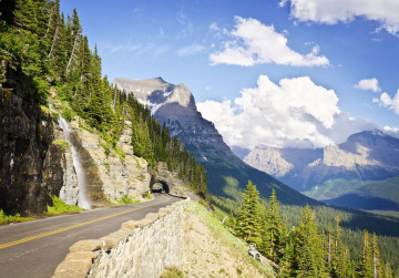 Kanada Reise: Sun Road im Glacier Nationalpark