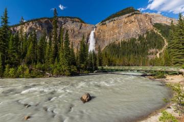 Reise Kanada: Takakkaw Falls