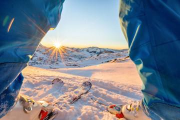 Kanada Rundreise: Skifahren