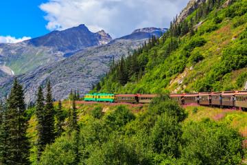 Alaska White Pass Bahnfahrt