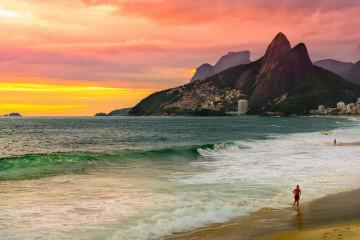 Brasilien Rio de Janeiro Strände
