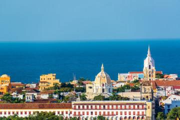 Reise Peru und Kolumbien Cartagena am Meer