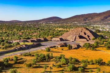 Mexiko Rundreise Reise Ruinen