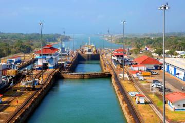 Panama Reise - Panama Kanal