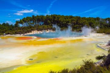 Neuseeland Reise Rotorua