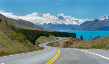 Neuseeland Reise Lake Tekapo