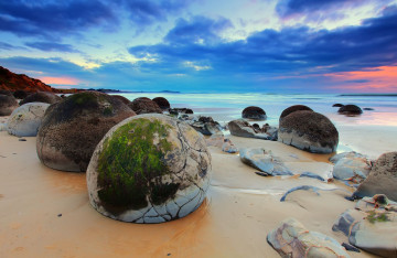 Neuseeland Reise Moeraki Boulders