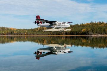 Kanadas Wildnisresort: Wassflugzeug