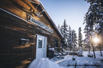 Kanadas Wildnis: Wildnis Resort und Blockhütte