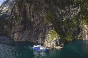 Kreuzfahrtschiff © Milford Mariner Overnight Cruises