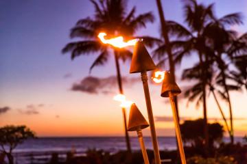 Hawaii Am Abend Traumhochzeit