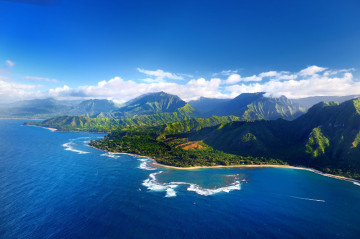 Hawaii Helikopter Ausblick
