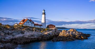 Neuengland Reise Portland Maine