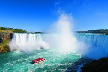 Usa Osten Reise Niagarafälle