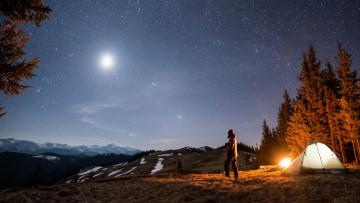 USA Reise Camping