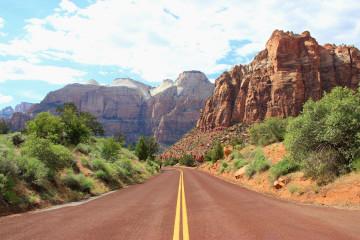 USA Reise: Canyon Road